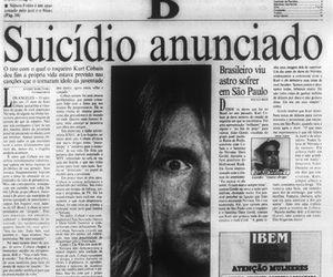 kurt cobain and suicide image