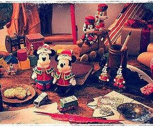 christmas, Cookies, and disney image