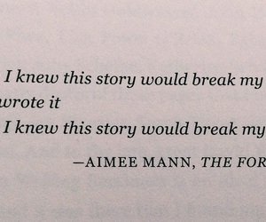 book, quote, and aimee mann image