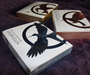 books, the hunger games, and suzanne collins image