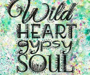 bohemian, gypsy, and heart image
