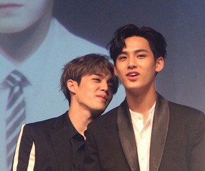 Seventeen, mingyu, and scoups image