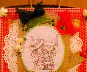 card, natale, and scrapbooking image