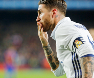 real madrid, sergio ramos, and el clasico image