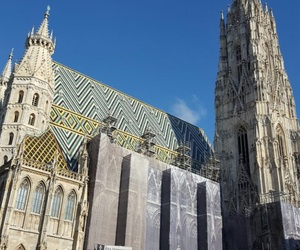 vienna and st. stephen's cathedral image