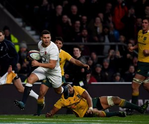rugby, ben youngs, and wallabies image