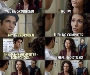 teen wolf, beacon hills, and melissa mccall image