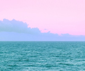gradient, ocean view, and turquoise image
