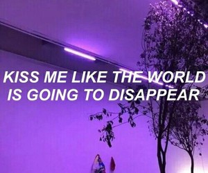 quotes, grunge, and purple image