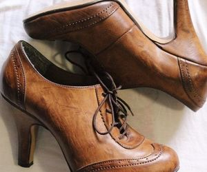 heels, oxford shoes, and shoes image