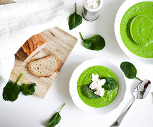 bread, green, and healthy image