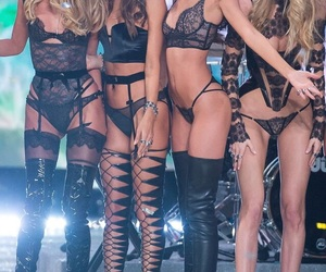 alessandra ambrosio, victorias secret angels, and elsa hosk image