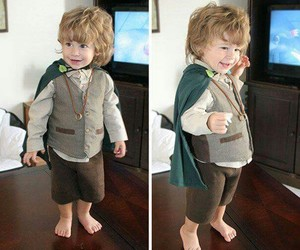 cute, hobbit, and kids image