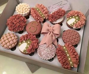 food, cake, and cupcake image