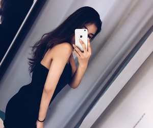 black, body, and dress image