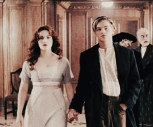 titanic, leonardo dicaprio, and film image