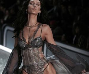 model, victorias secret, and bella hadid image