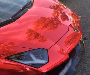 car, red, and luxury image