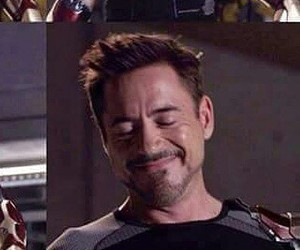 iron man, rdj, and tony stark image
