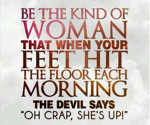 woman, quotes, and Devil image