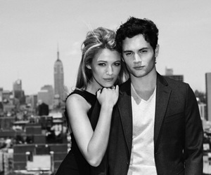 gossip girl, couple, and blake lively image