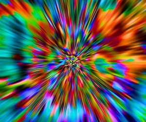 colors, trippy, and colorful image
