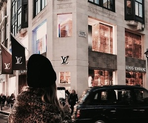fashion, Louis Vuitton, and city image