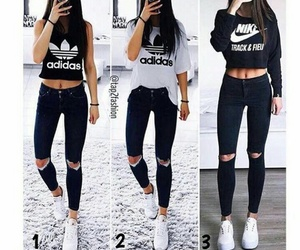 adidas and girl image