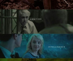 harry potter, ravenclaw, and draco malfoy image