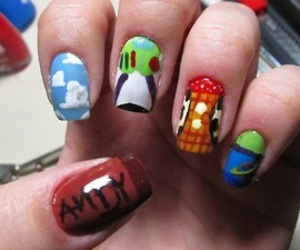 nails, toy story, and andy image