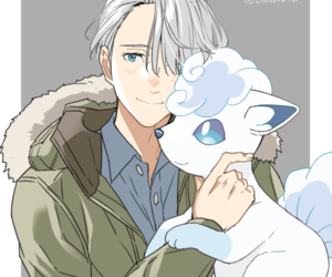 yuri on ice, anime, and pokemon image