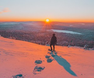 scenery, Skiing, and snow image