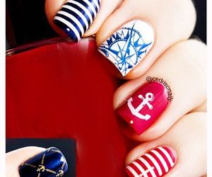 beauty, nail designs, and manicure image
