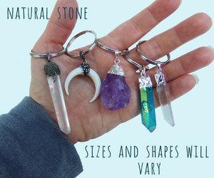 etsy, crystal quartz, and amethyst cluster image