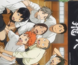 anime, haikyuu!!, and wallpaper image