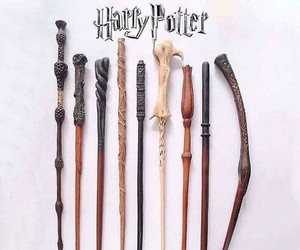 harry potter, wand, and harrypotter image