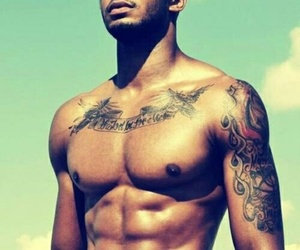 abs, guys, and guys with tattoos image