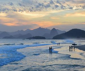beach, brasil, and brazil image