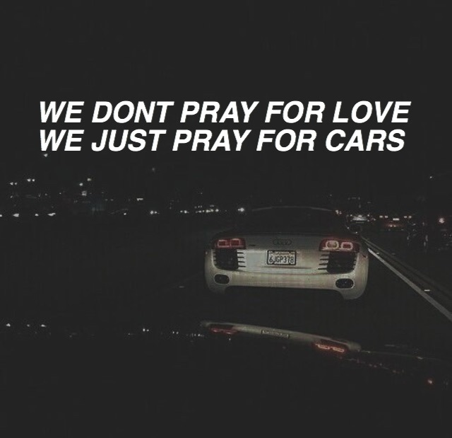 car, dark, and lyric image