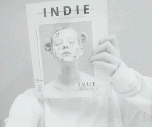white, indie, and aesthetic image
