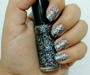 beauty, sparkle, and black image