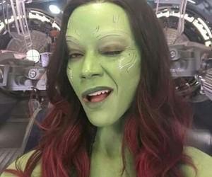 Marvel, zoe saldana, and gamora image
