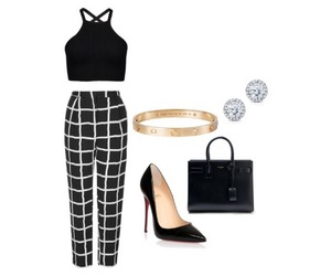 cartier, outfit, and Polyvore image