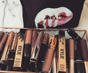 makeup, girl, and kylie jenner image