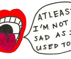 sad, quotes, and lips image