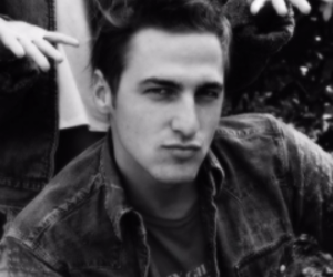 black and white, kendall schmidt, and bebazo image