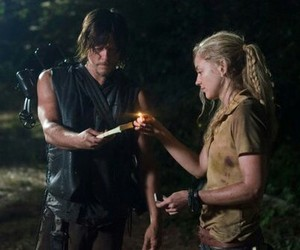 beth, daryl, and twd image
