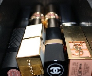 chanel, lipstick, and YSL image