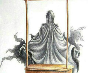 harry potter, kiss, and dementor image