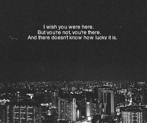 quote, sad, and city image